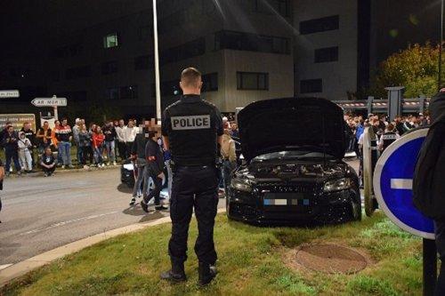 Nantes : au Zénith la police intervient en force pour faire cesser des rodéos