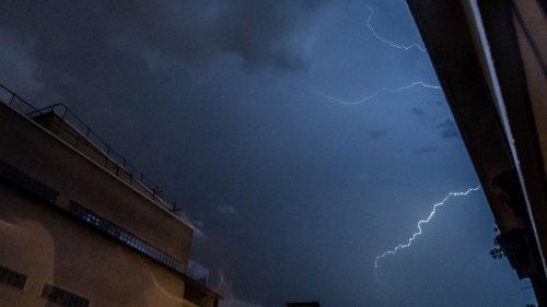Météo : plus que 14 départements placés en vigilance orange, dont 12 pour les orages