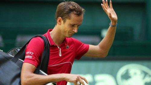 Tennis : Daniil Medvedev et Gaël Monfils prennent la porte dès le premier tour à Halle