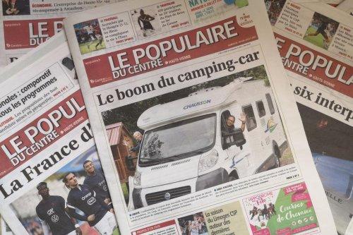 Pas de presse quotidienne régionale papier en Limousin aujourd'hui