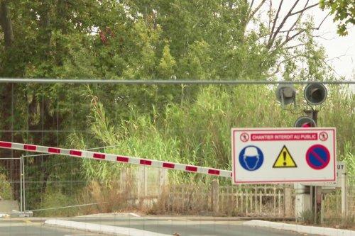 10 000 véhicules par jour et 145 trains : à Agde, la sécurisation d'un passage à niveau commence