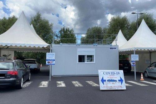 COVID 19 : à Clermont-Ferrand, dans un centre de dépistage, la part de tests positifs progresse