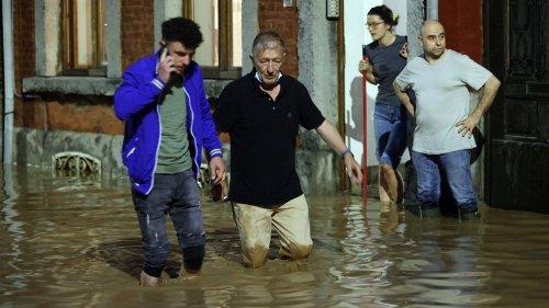 EN IMAGES. Inondations en Belgique : de violents orages font de nombreux dégâts