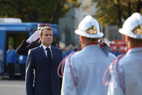 Marseille : Emmanuel Macron clôt le Congrès des Sapeurs-Pompiers