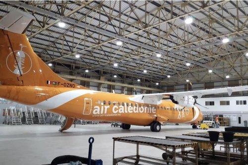 Transport : Aircal a terminé la révision locale d'un de ses avions - Nouvelle-Calédonie la 1ère