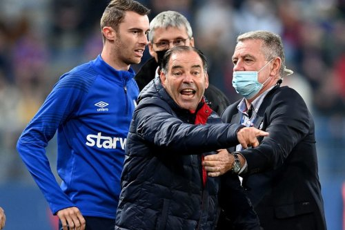 Après le match houleux Caen-Dijon, une suspension avec sursis pour Stéphane Moulin et un carton rouge retiré