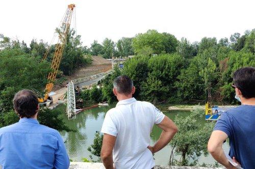 Mirepoix-sur-Tarn : un an et demi après l'accident mortel et l'effondrement du pont, la foreuse a été sortie de l'eau