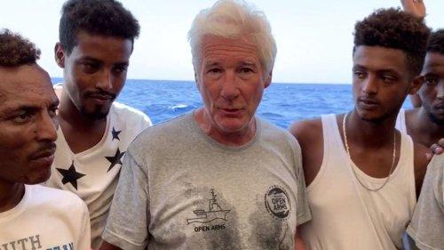 Migrants bloqués en mer en 2019 : Richard Gere pourrait témoigner contre Matteo Salvini