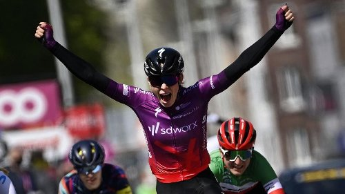Cyclisme : la Néerlandaise Demi Vollering remporte Liège-Bastogne Liège
