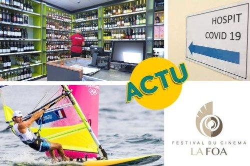 Vente d'alcool, Covid-19, festival de La Foa, JO : l'actu à la 1 du samedi 31 juillet 2021 - Nouvelle-Calédonie la 1ère