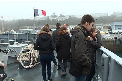 """La marine recrute en Alsace : """"ce n'est pas parce qu'on est alsacien qu'on ne peut pas travailler dans la marine"""""""