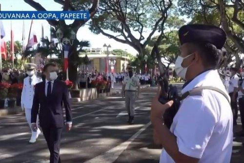 Cérémonie au monument aux morts : l'hommage aux militaires, la ferveur populaire - Polynésie la 1ère