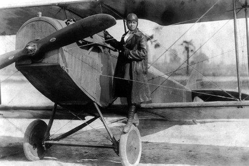 L'histoire du dimanche. Bessie Coleman, 1re pilote afro-américaine brevetée au monde, élève des frères Caudron au Crotoy