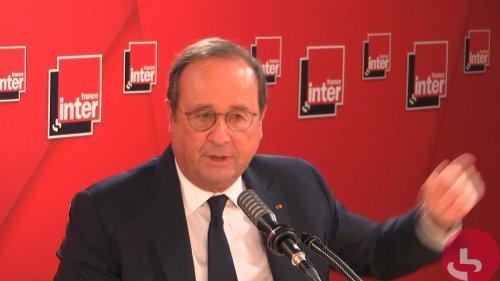 """VIDEO. Présidentielle : E. Macron un """"choix par défaut"""" face à l'absence d'alternative et J-L. Mélenchon """"un fardeau pour la gauche"""", selon F. Hollande"""