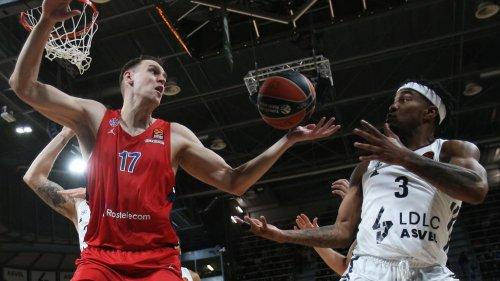 Euroligue : nouvel exploit de l'Asvel vainqueur du CSKA Moscou