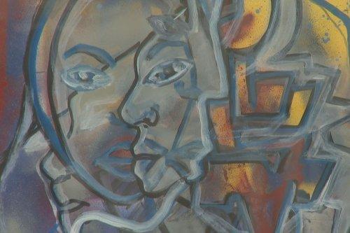 Street art : portrait de l'artiste kanak Didier Mindia - Nouvelle-Calédonie la 1ère