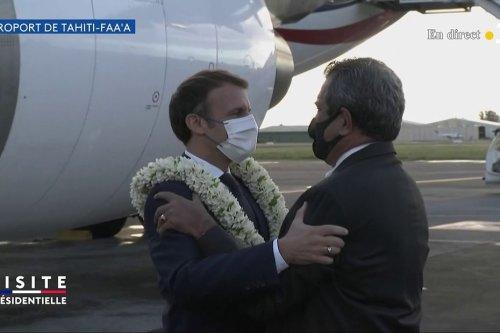 Emmanuel Macron est arrivé à Tahiti - Polynésie la 1ère