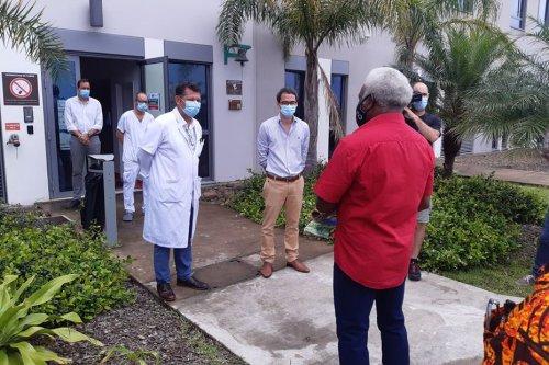 Les membres du Sénat Coutumier en visite au Médipôle - Nouvelle-Calédonie la 1ère