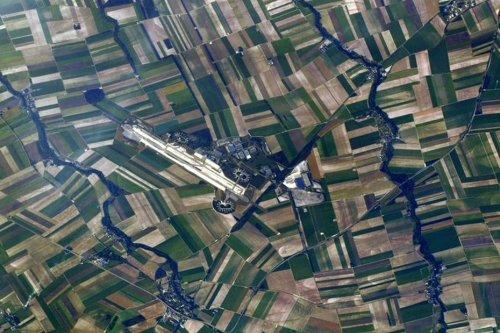 INSOLITE. Marne : Thomas Pesquet photographie depuis l'espace... l'aéroport de Paris-Vatry