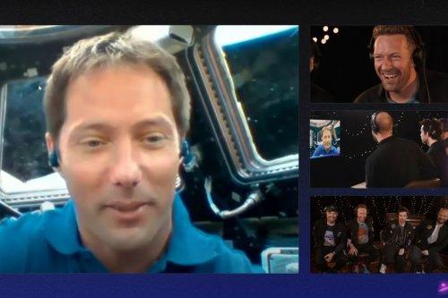 Le nouveau single de Coldplay diffusé à bord de l'ISS avec Thomas Pesquet