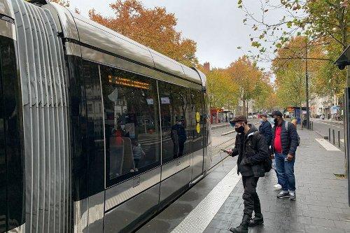 La circulation du tramway est perturbée à Tours