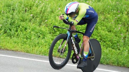 JO 2021 - Cyclisme : Primoz Roglic champion olympique du contre-la-montre, Rémi Cavagna loin du compte
