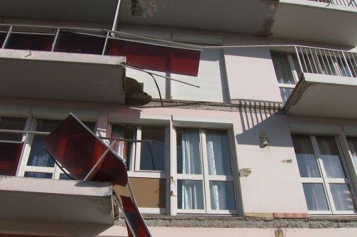 Deux balcons s'effondrent en pleine nuit ... plus de peur que de mal dans la Loire