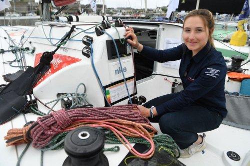 La Rochelaise Violette Dorange sera la plus jeune femme à participer au Vendée Globe