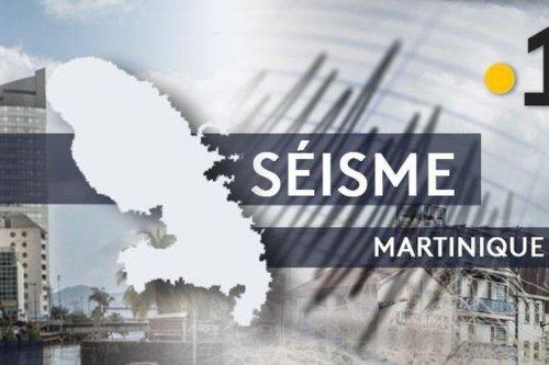 Un nouveau séisme de magnitude 3.9 ressenti lundi après-midi en Martinique - Martinique la 1ère