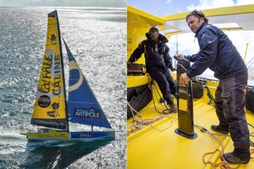 Rodolphe Sépho passe de la classe 40 à l'Imoca, en vue de la Transat Jacques Vabre 2021 - Guadeloupe la 1ère
