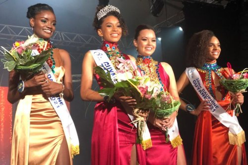 Mélysa Stéphenson est la nouvelle Miss Guyane 2021 - Guyane la 1ère