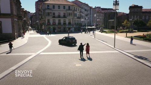 """VIDEO. Pontevedra, la ville où le maire a dompté les voitures : """"C'est comme si on les avait dressées… comme les chiens"""""""