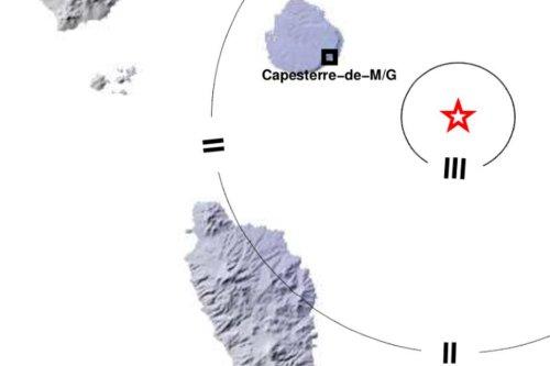 La terre a tremblé ce samedi à 8h31 en Guadeloupe - Guadeloupe la 1ère