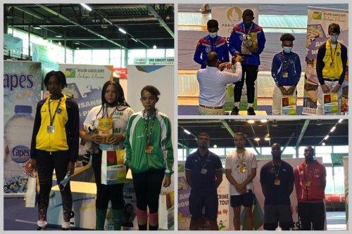 La Martinique décroche 12 médailles au tournoi international d'escrime en Guadeloupe - Martinique la 1ère