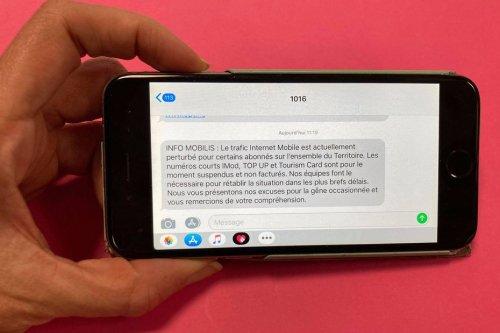 Communications : l'internet mobile perturbé suite à des travaux sur les réseaux - Nouvelle-Calédonie la 1ère