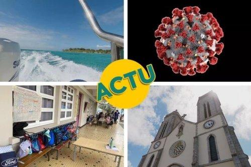 Confinement adapté, rentrée des petits, les chiffres de l'épidémie : l'actu à la 1 du lundi 25 octobre 2021 - Nouvelle-Calédonie la 1ère