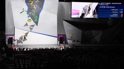 """VIDEO. Escalade aux JO : """"Deux médailles d'or en escalade à Paris, ça permet d'être au plus proche de la réalité des athlètes"""", estime Tony Estanguet"""