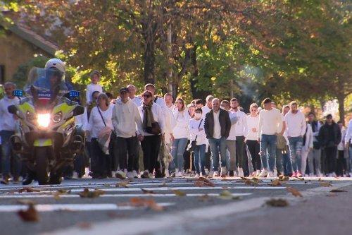 Dijon : une marche blanche pour Enzo, tué à 20 ans dans un accident de la route