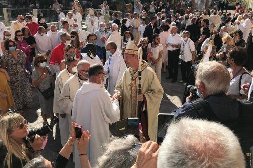 Ajaccio : Monseigneur François-Xavier Bustillo ordonné évêque de Corse
