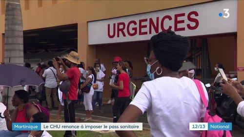 Martinique : le CHU n'impose plus le pass sanitaire à ses soignants