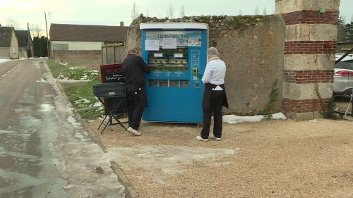 Un traiteur d'Eure-et-Loir lance avec succès un distributeur automatique de plats cuisinés