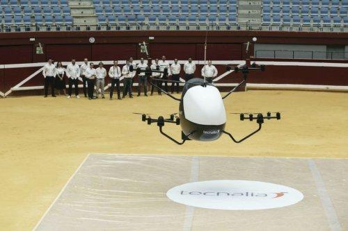 """Les premiers """"taxis volants"""" en milieu urbain, le projet Tindair va tester des envois par drones à Toulouse et Bordeaux"""