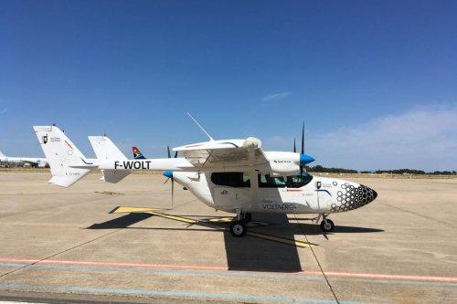 Un avion hybride fait escale à Nîmes et à Toulouse