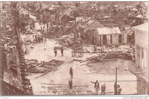 93 années après son passage, le cyclone de 1928 reste un souvenir douloureux pour la Guadeloupe - Guadeloupe la 1ère