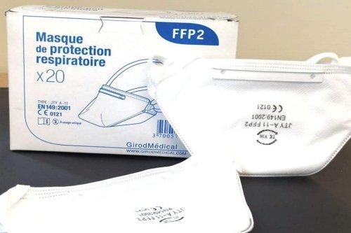 Interdiction de porter des masques FFP2 suspectés de contenir une substance toxique d'après les autorités de santé - Guadeloupe la 1ère
