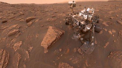 """L'émission spatiale. """"Si tu avais la possibilité d'aller sur Mars est-ce que tu accepterais ?"""", demande Shaïli à Thomas Pesquet"""