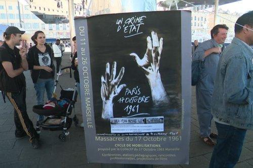 Marseille : près de 200 personnes rassemblées pour la commémoration du massacre du 17 octobre 1961