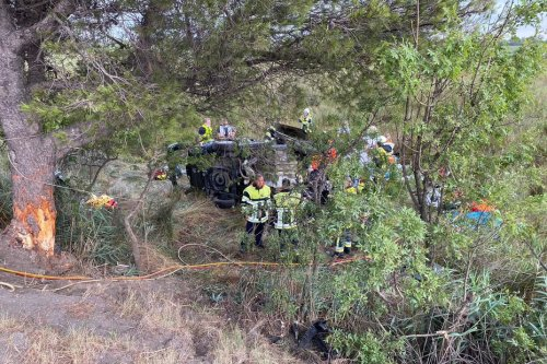Fos-sur-Mer : accident mortel sur la D268, la voiture a percuté un arbre