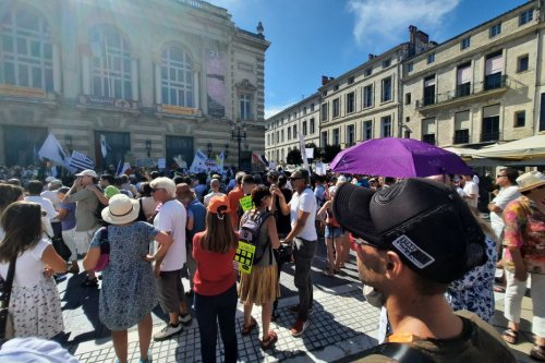 Montpellier : dixième manifestation des opposants au pass sanitaire