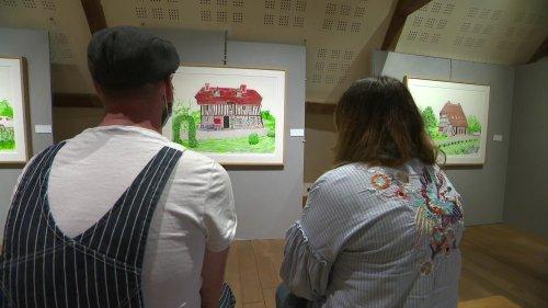 En Normandie, la star de la peinture contemporaine David Hockney expose 50 ans de travail